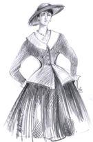 Obr 1: Diorovský kostým
